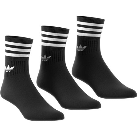ADIDAS - MID CUT CREW SOCK Black