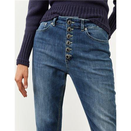DONDUP - Pantalone KOONS Gioiello Blue