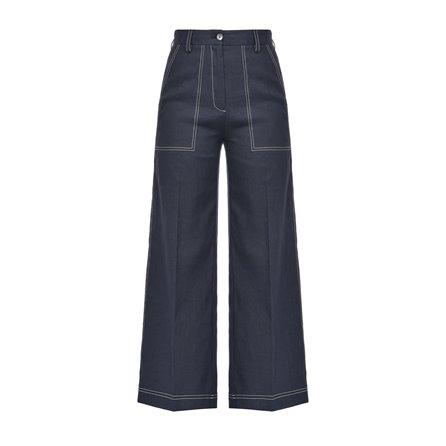 PINKO - Pantalone SOTTOCASA Blue