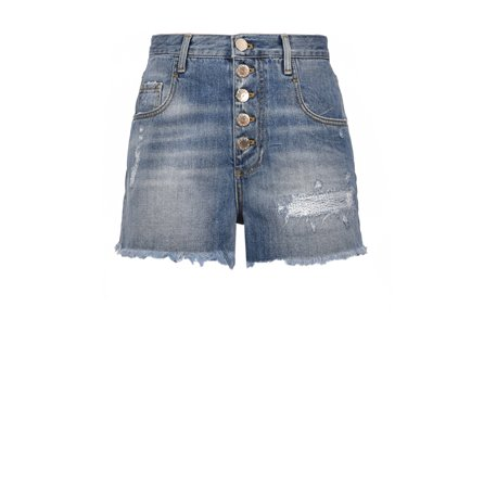 PINKO - Shorts DIDO Blue