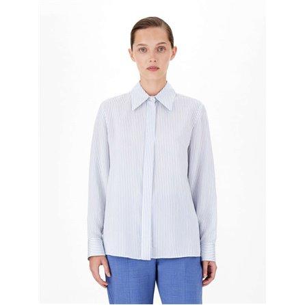 MaxMara Studio - Camicia GALLO Celeste/Azzurro