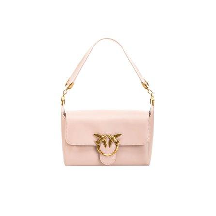 PINKO - SHOULDER LOVE BAG SIMPLY Cipria