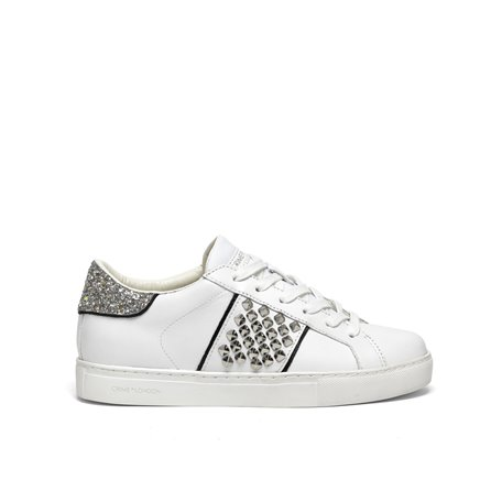 CRIME - Sneakers LOW TOP ESSENTIAL Bianco
