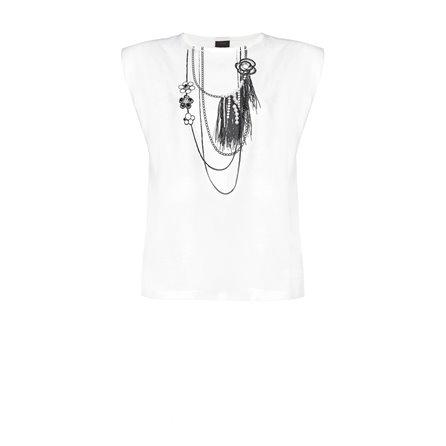PINKO - T-Shirt MISTICO Bianco