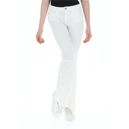 PINKO - Pantalone FLORA 15 Bianco