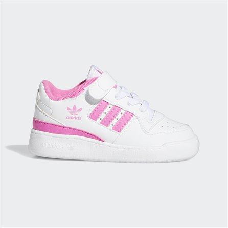 FORUM LOW White Pink