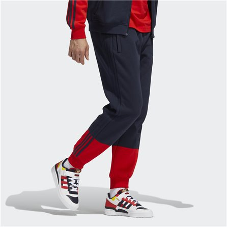 SWEAT PANTS 3-STRIPES SPLIT Blue Red