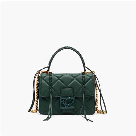 LA CARRIE - Handle Bag UNIQUE Verde